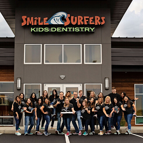 The Smile Surfers team in Richland, WA